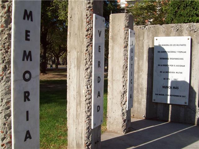dia memoria verdad justicia 24 marzo 2007: