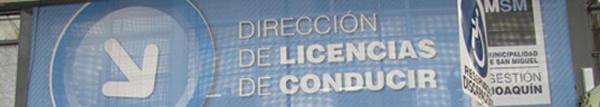 Licencias de conducir San Miguel