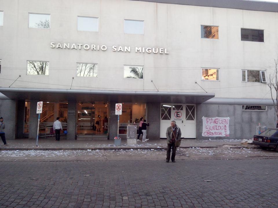 Contin A El Reclamo De Empleados Del Sanatorio San Miguel