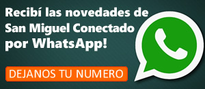 Recibi gratis las novedades de San Miguel Conectado